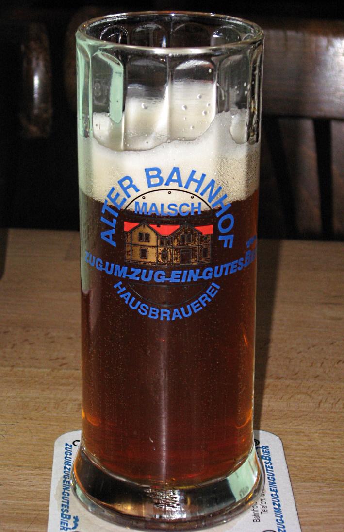 Alter Bahnhof Malsch Hausbrauerei, Malsch, Bier in Baden-Württemberg, Bier vor Ort, Bierreisen, Craft Beer, Brauerei, Gasthausbrauerei