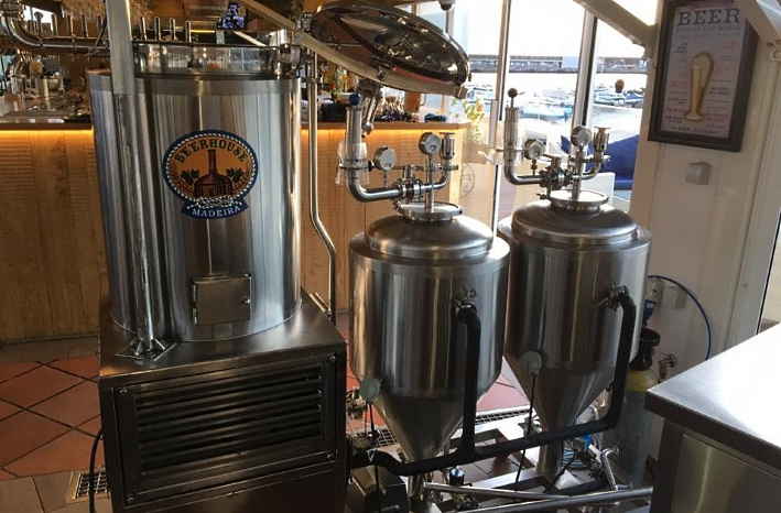 Beerhouse Madeira, Funchal, Bier auf Madeira, Bier in Portugal, Bier vor Ort, Bierreisen, Craft Beer, Brauerei, Gasthausbrauerei