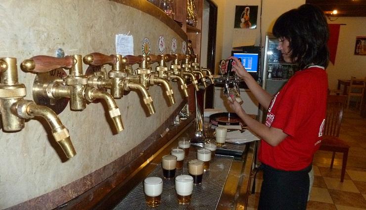 Pivovarský Hostinec Richtár Jakub, Bratislava, Bier in der Slowakei, Bier vor Ort, Bierreisen, Craft Beer, Brauerei, Gasthausbrauerei