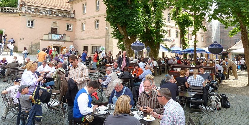 Die Tour de Bier 2011, Brauerei Weltenburg, Kelheim, Bier in Bayern, Bier vor Ort, Bierreisen, Craft Beer, Brauerei, Biergarten