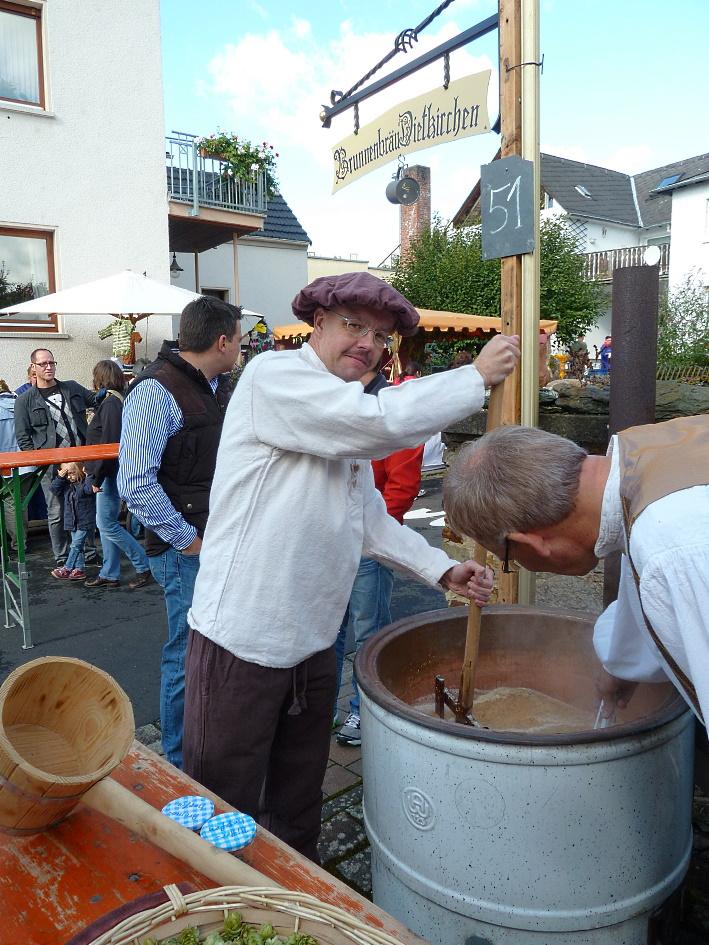 Schaubrauen auf dem Dickerischer Maat, Dietkirchen, Bier in Hessen, Bier vor Ort, Bierreisen, Craft Beer, Schaubrauen, Hausbrauertreffen