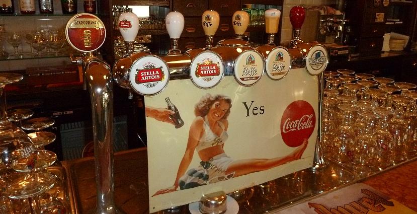 Belgian Beer Cafe De Zwaan, Bratislava, Bier in der Slowakei, Bier vor Ort, Bierreisen, Craft Beer, Bierbar