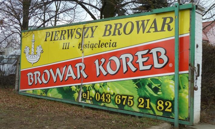 Browar Koreb, Łask, Bier in Polen, Bier vor Ort, Bierreisen, Craft Beer, Brauerei