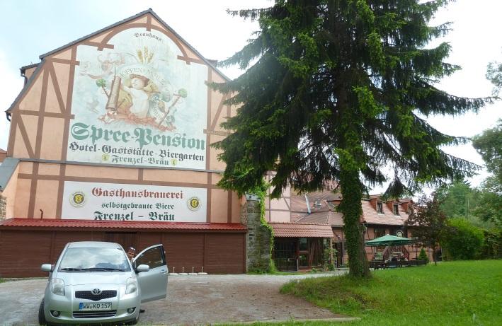 Spree-Pension Gaststätte, Hotel & Biergarten – Frenzel-Bräu, Bautzen, Bier in Sachsen, Bier vor Ort, Bierreisen, Craft Beer, Brauerei