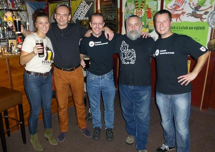 Brauworkshop im Pub Pivaria im Oktober 2013, Szczecin, Bier in Polen, Bier vor Ort, Bierreisen, Craft Beer, Bierbar, Bierseminar, Schaubrauen, Hausbrauertreffen