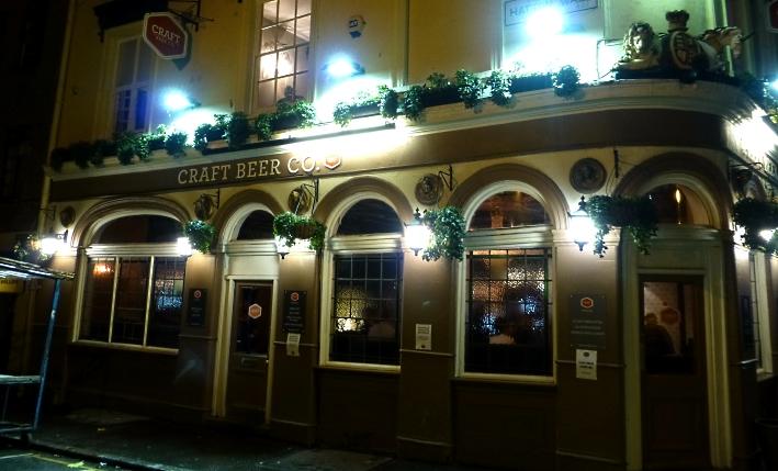 The Craft Beer Co. – Clerkenwell, London, Bier in England, Bier in Großbritannien, Bier vor Ort, Bierreisen, Craft Beer, Bierbar, Pub