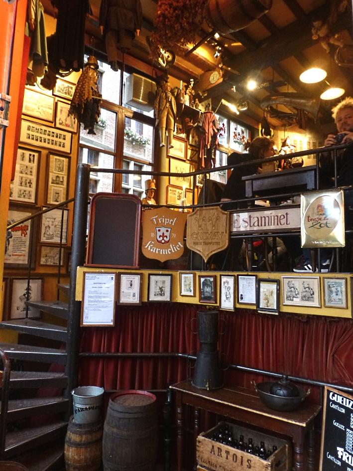 Le Poechenellekelder, Brüssel, Bier in Belgien, Bier vor Ort, Bierreisen, Craft Beer, Bierbar