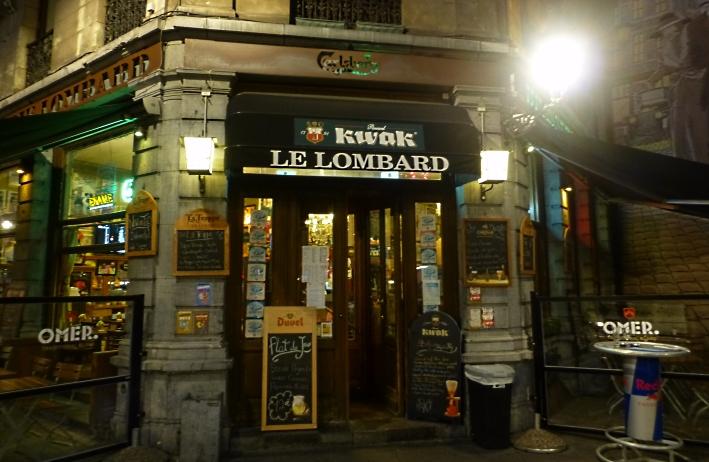 Le Lombard, Brüssel, Bier in Belgien, Bier vor Ort, Bierreisen, Craft Beer, Bierbar