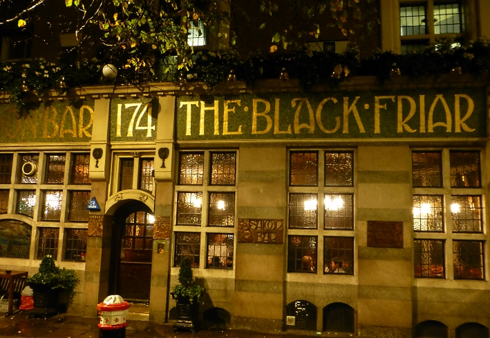 The Blackfriar, London, Bier in England, Bier in Großbritannien, Bier vor Ort, Bierreisen, Craft Beer, Pub