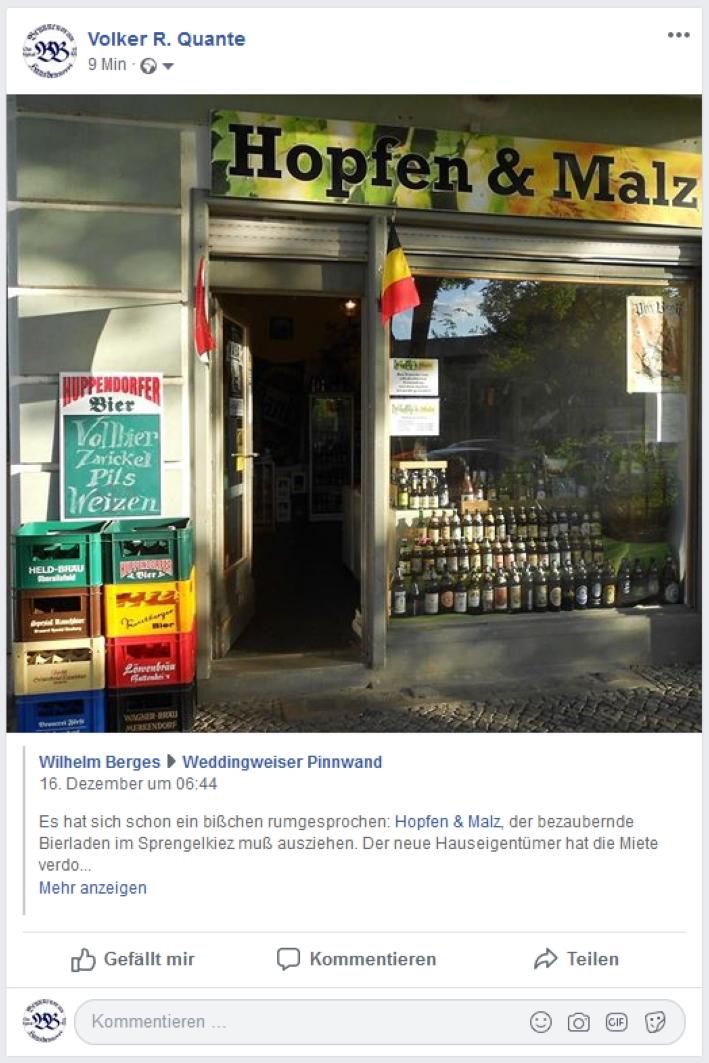 Hopfen & Malz, Berlin, Bier in Berlin, Bier vor Ort, Bierreisen, Craft Beer, Bottle Shop