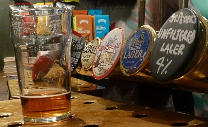 The Jerusalem Tavern, London, Bier in England, Bier in Großbritannien, Bier vor Ort, Bierreisen, Craft Beer, Pub