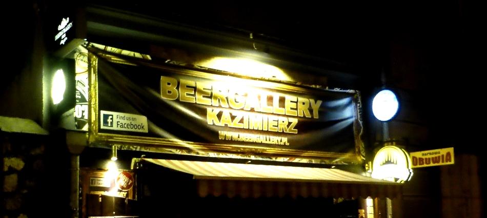Beergallery Kazimierz, Kraków, Bier in Polen, Bier vor Ort, Bierreisen, Craft Beer, Bierbar