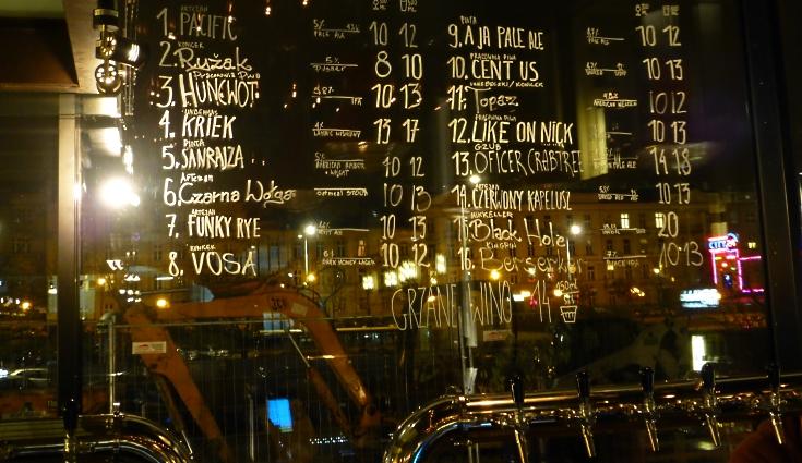 Cuda na Kiju – Multitap Bar, Warszawa, Bier in Polen, Bier vor Ort, Bierreisen, Craft Beer, Bierbar