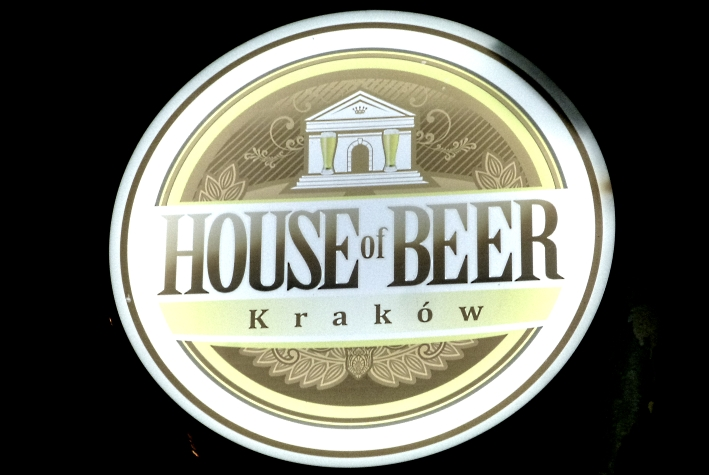 House of Beer, Kraków, Bier in Polen, Bier vor Ort, Bierreisen, Craft Beer, Bierbar