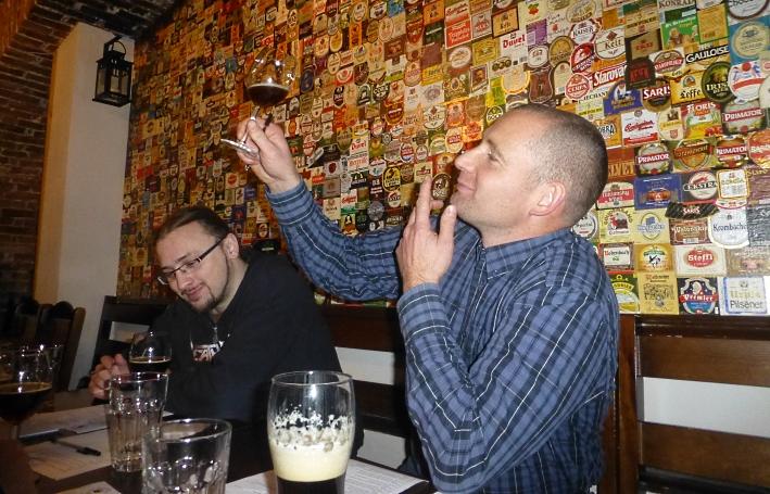 IV Mikołajkowy Konkurs Piw Domowych, Kraków, Bier in Polen, Bier vor Ort, Bierreisen, Craft Beer, Hausbrauertreffen, Bierverkostung