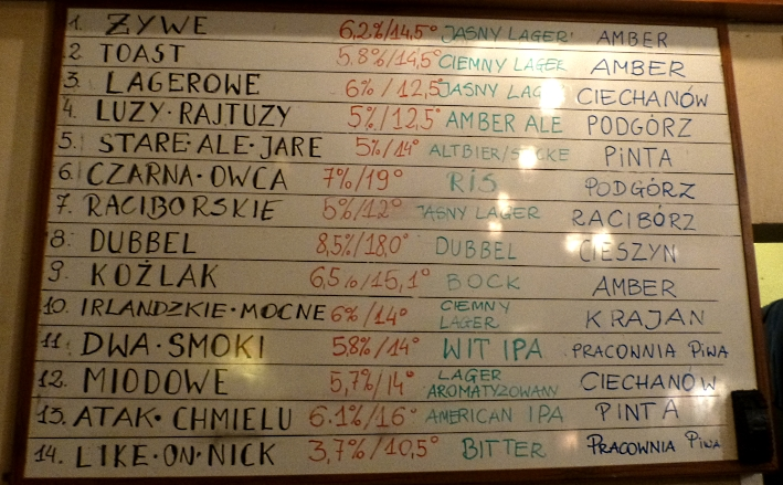 Omerta Pub & more, Kraków, Bier in Polen, Bier vor Ort, Bierreisen, Craft Beer, Bierbar