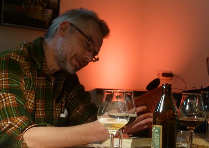 """BIERLESE mit Bierverkostung: Jürgen Roth liest aus """"Die Poesie des Biers"""", Bier vor Ort, Bierreisen, Craft Beer, Bierbuch, Bierverkostung"""