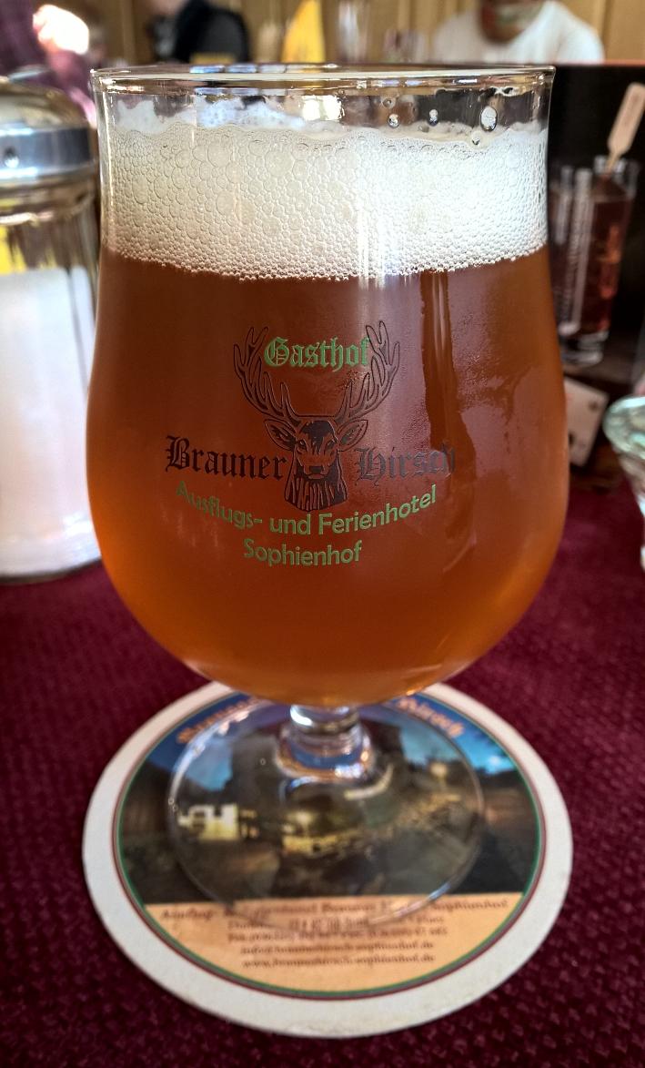 Ausflug- & Ferienhotel Brauner Hirsch Sophienhof, Sophienhof, Bier in Thüringen, Bier vor Ort, Bierreisen, Craft Beer, Brauerei, Gasthausbrauerei