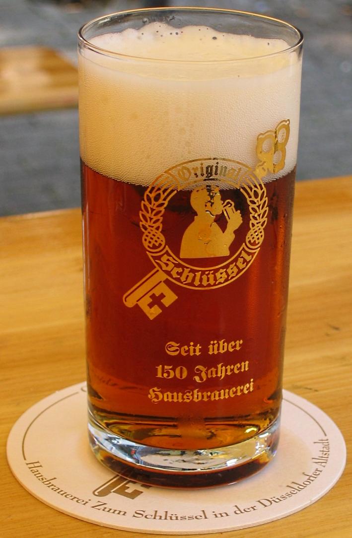 """Hausbrauerei """"Zum Schlüssel"""" – Schlüssel GmbH & Co. KG, Düsseldorf, Bier in Nordrhein-Westfalen, Bier vor Ort, Bierreisen, Craft Beer, Brauerei, Gasthausbrauerei"""