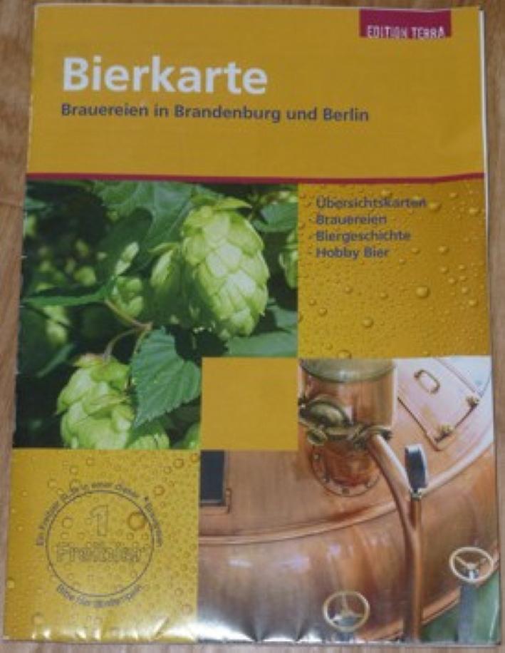 Bierkarte, Brauereien in Brandenburg und Berlin, Bier vor Ort, Bierreisen, Craft Beer, Brauerei