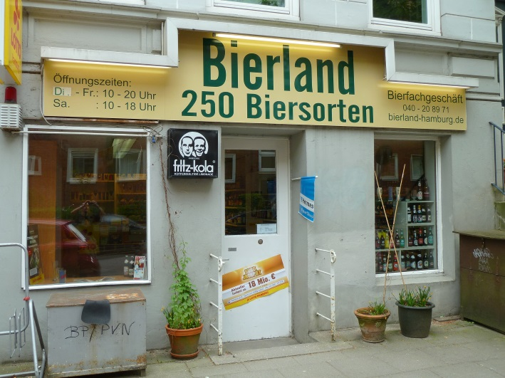 Bierland, Hamburg, Bier in Hamburg, Bier vor Ort, Bierreisen, Craft Beer, Bottle Shop