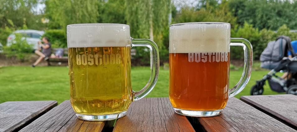 Restaurace Pivovar Hostivar, Praha, Bier in Tschechien, Bier vor Ort, Bierreisen, Craft Beer, Brauerei, Gasthausbrauerei