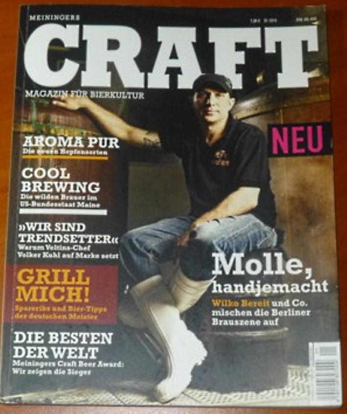 Craft - Meiningers Magazin für Bierkultur, Bier vor Ort, Bierreisen, Craft Beer, Biermagazin