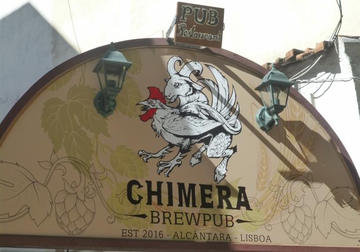 Chimera Brewpub, Lisboa, Bier in Portugal, Bier vor Ort, Bierreisen, Craft Beer, Brauerei, Pub