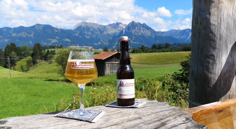 Der Bergbauernwirt, Bolsterlang, Sonderdorf, Bier im Allgäu, Bier in Bayern, Bier vor Ort, Bierreisen, Craft Beer, Brauereigasthof