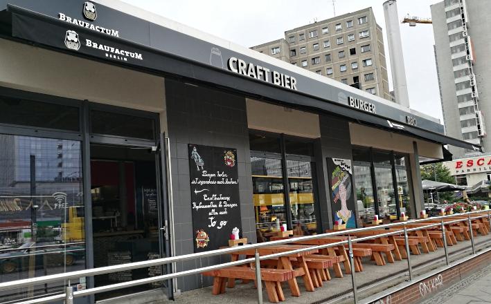 BraufactuM Berlin, Berlin, Bier in Berlin, Bier vor Ort, Bierreisen, Craft Beer, Bierbar