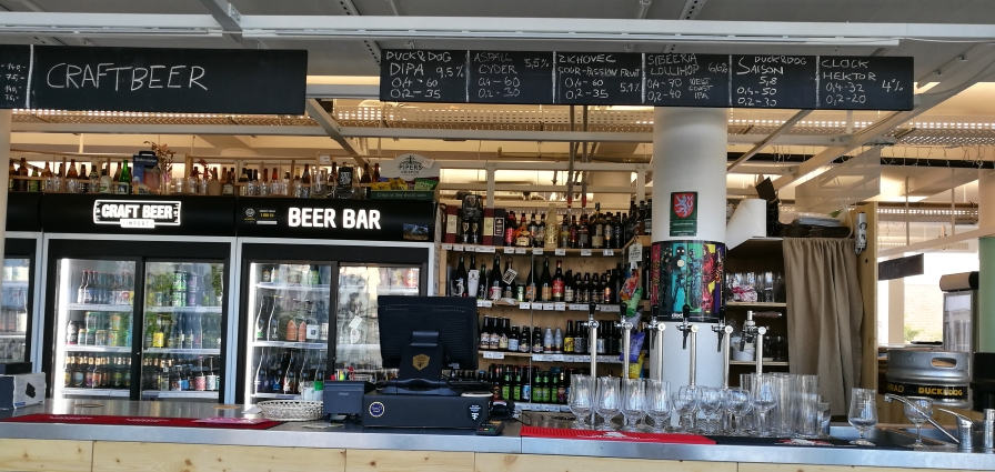 Craftbeer Bottle Shop & Bar Tržnice, Brno, Bier in Tschechien, Bier vor Ort, Bierreisen, Craft Beer, Bierbar, Bottle Shop