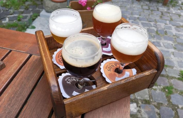 Trenčiansky Pivovar Lanius, Trenčín, Bier in der Slowakei, Bier vor Ort, Bierreisen, Craft Beer, Brauerei, Gasthausbrauerei