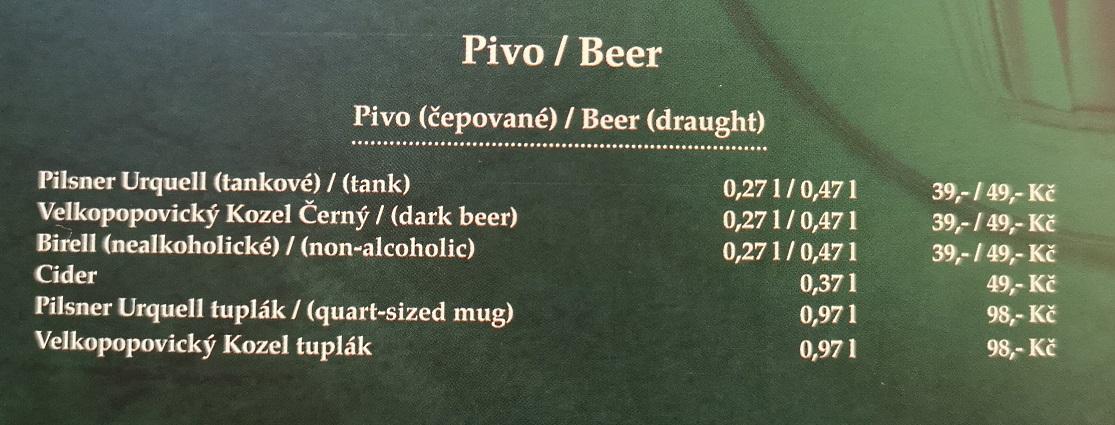 Kulaťák, Praha, Bier in Tschechien, Bier vor Ort, Bierreisen, Craft Beer, Bierbar, Bierrestaurant