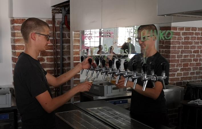 100 Blumen Brauerei, Wien, Bier in Österreich, Bier vor Ort, Bierreisen, Craft Beer, Brauerei