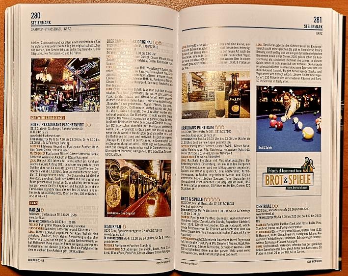 Conrad Seidl, Bier Guide 2018, Bier in Österreich, Bier vor Ort, Bierreisen, Craft Beer, Bierbuch