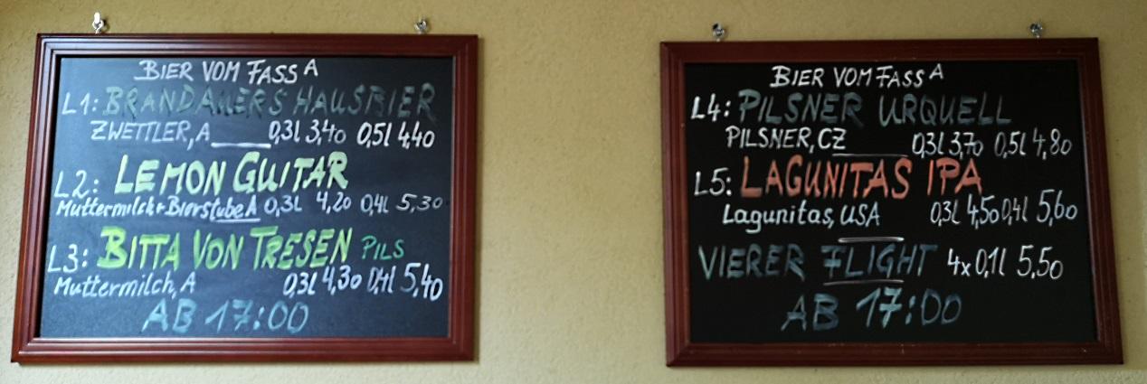 Brandauers Bierstube, Wien, Bier in Österreich, Bier vor Ort, Bierreisen, Craft Beer, Bierbar