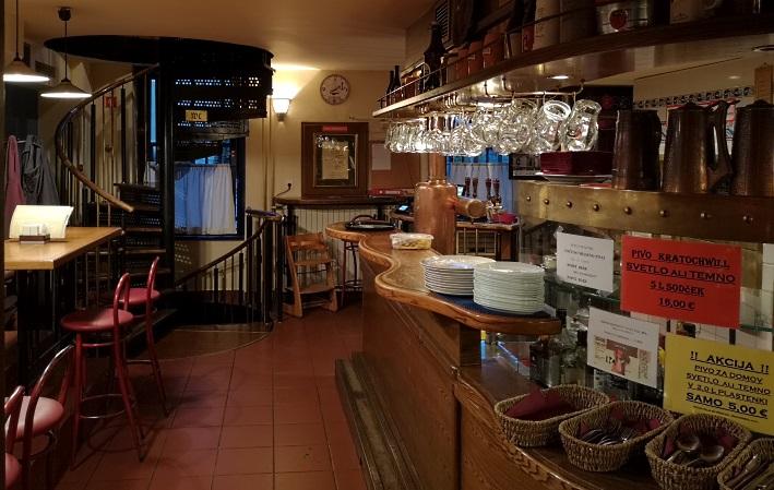 Pivovarna in Pivnica Kratochwill d.o.o., enota Kolodvor, Ljubljana, Bier in Slowenien, Bier vor Ort, Bierreisen, Craft Beer, Biergarten, Bierrestaurant