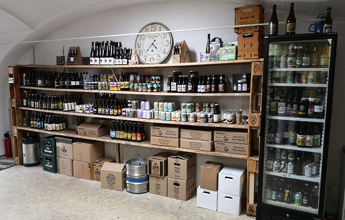Pivarna – Beer Shop Maribor, Maribor, Bier in Slowenien, Bier vor Ort, Bierreisen, Craft Beer, Bierbar, Bottle Shop