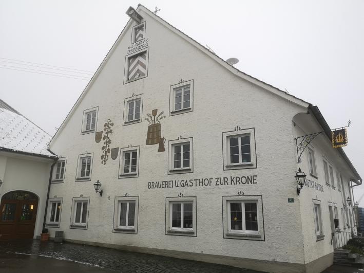 Brauerei und Gasthof Kronburg, Kronburg, Bier in Bayern, Bier vor Ort, Bierreisen, Craft Beer, Brauerei, Brauereigasthof