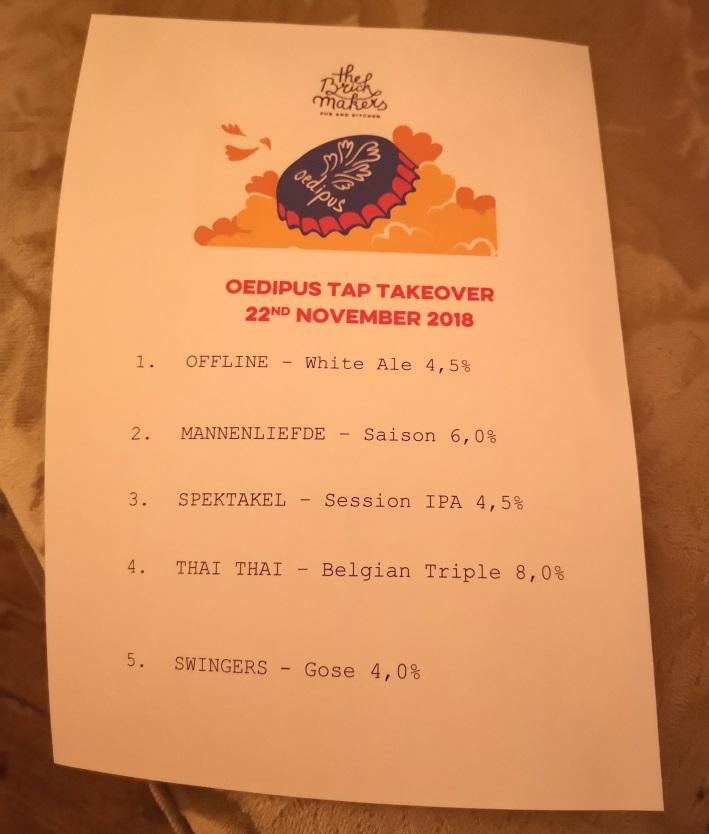 Pre-Craft Bier Fest Wien TTOs, Wien, Bier in Österreich, Oedipus, Brickmakers, Bier vor Ort, Bierreisen, Craft Beer, Brauerei, Bierfestival, Bierbar, Pub, Meet the Brewer