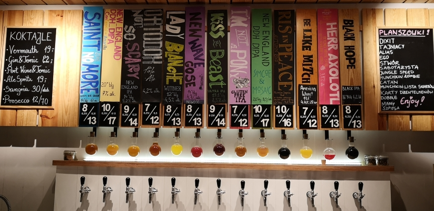 AleBrowar Wrocław, Wrocław, Bier in Polen, Bier vor Ort, Bierreisen, Craft Beer, Brauerei, Bierbar
