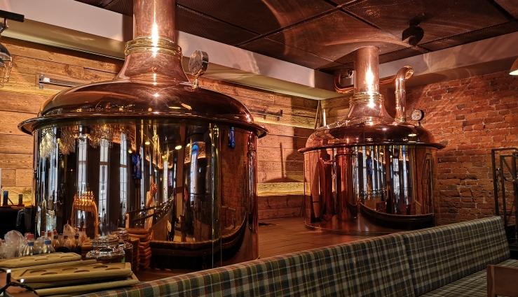 Browar Złoty Pies, Wrocław, Bier in Polen, Bier vor Ort, Bierreisen, Craft Beer, Brauerei, Gasthausbrauerei