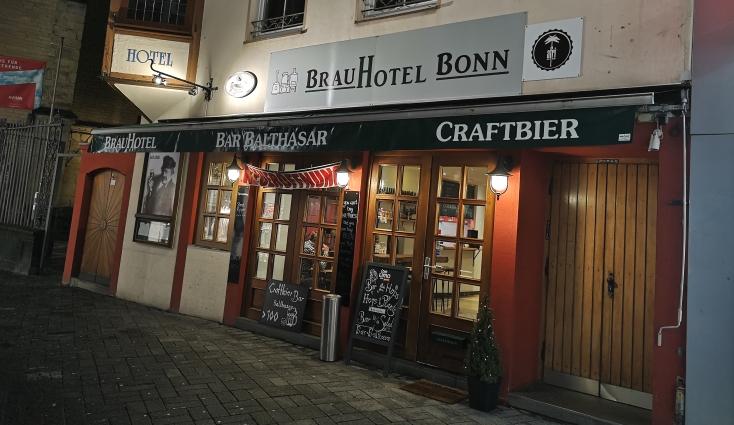 Craftbier Bar Balthasar, BrauHotel, Bonn, Bier in Nordrhein-Westfalen, Bier vor Ort, Bierreisen, Craft Beer, Bierbar