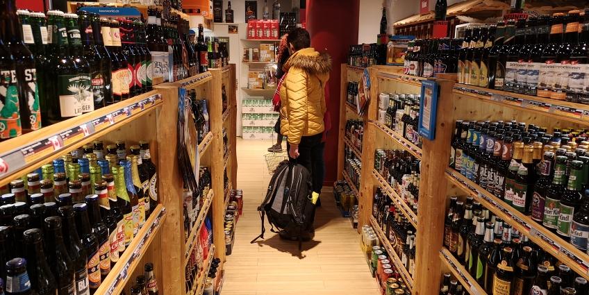 Drinks of the World Luzern, Luzern, Bier in der Schweiz, Bier vor Ort, Bierreisen, Craft Beer, Bottle Shop