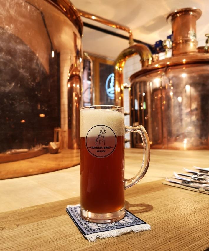 Schiller Bräu, München, Bier in Bayern, Bier vor Ort, Bierreisen, Craft Beer, Brauerei, Gasthausbrauerei