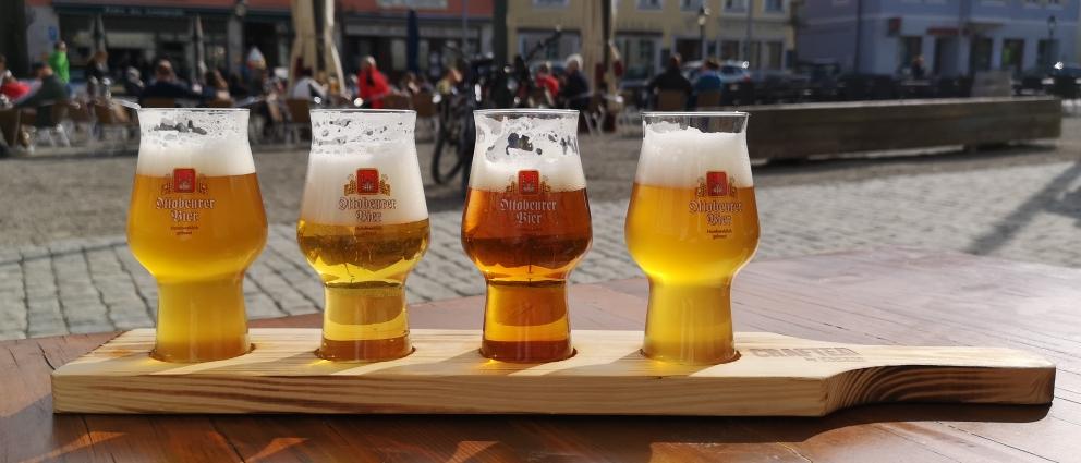 """AKZENT Brauerei Hotel Hirsch / Gasthausbrauerei """"Ottobeurer Bier"""", Ottobeuren, Bier in Bayern, Bier vor Ort, Bierreisen, Craft Beer, Brauerei, Gasthausbrauerei, Brauereigasthof"""