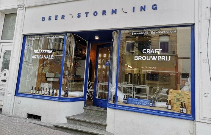 Beerstorming, Brüssel. Bier in Belgien, Bier vor Ort, Bierreisen, Craft Beer, Brauerei, Schaubrauen