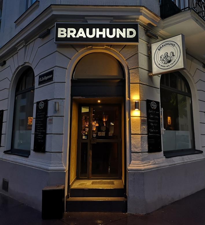 Brauhund, Wien, Bier in Österreich, Bier vor Ort, Bierreisen, Craft Beer, Bierbar