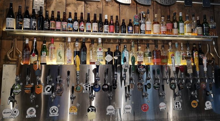 Apollon Platebar, Bergen, Bier in Norwegen, Bier vor Ort, Bierreisen, Craft Beer, Bierbar