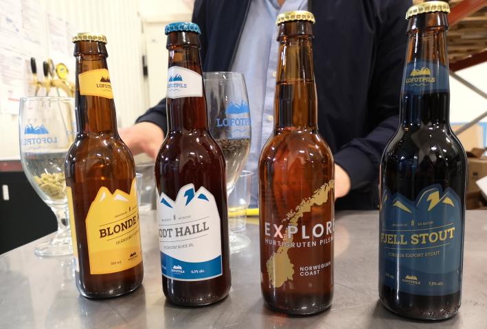 Lofotpils, Svolvær, Bier in Norwegen, Bier vor Ort, Bierreisen, Craft Beer, Brauerei